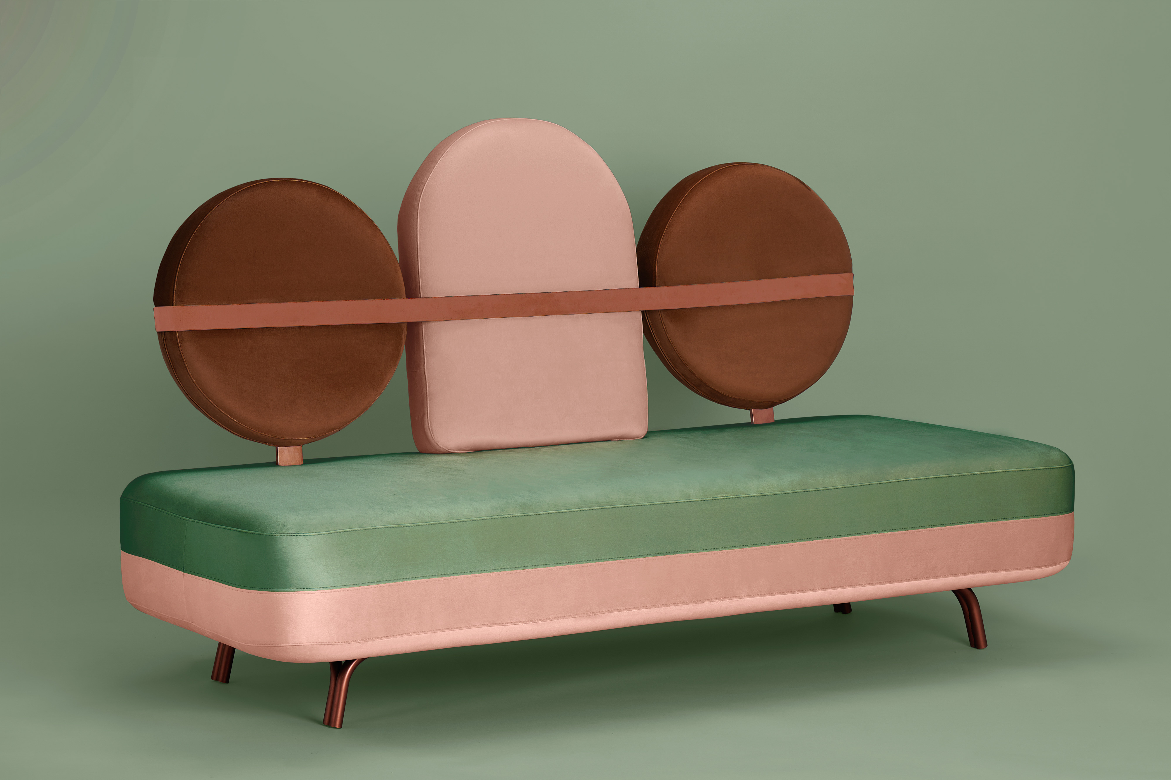 HOUTIQUE Jimi Sofa by Elena Salmistraro